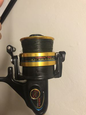 Offshore Spinfisher 850 on Custom Rod for Sale in Miami, FL