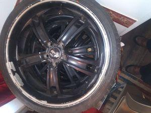 5 lug black rims for Sale in Piedmont, SC