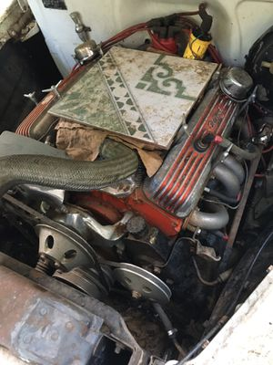 Chevy coupe has a 440 chevy engine 350 transmission was running before parking it ,I have front windshield too for Sale in Atlanta, GA