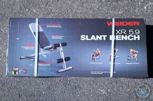 Weider Slant Adjustable Weight Bench New In Hand for Sale in Pine Castle, FL
