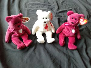 Beanie babies valentino & valentinas for Sale in Naperville, IL