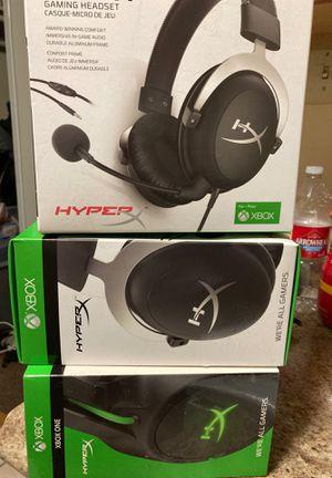 Xbox gamer headphones (clouds) for Sale in Hayward, CA