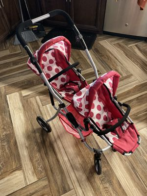 Double Doll Stroller for Sale in Houston, TX