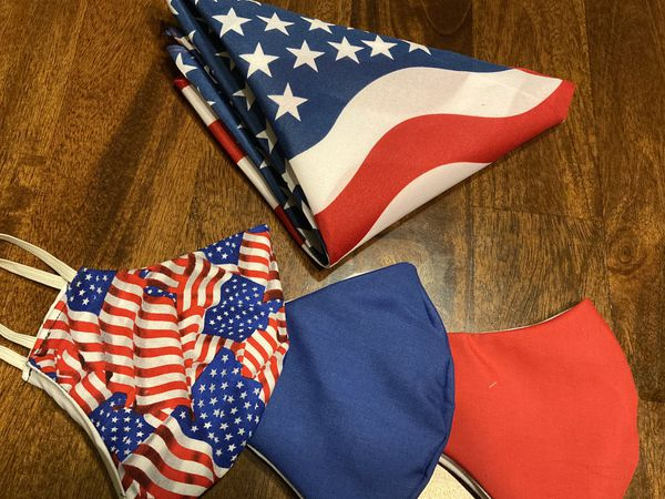 Fourth of July special face mask/ bandana