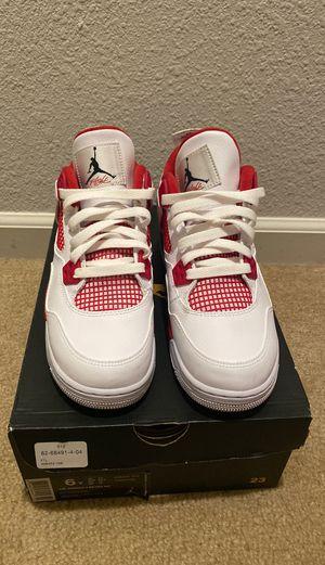 Jordan retro 4's GS size 6 for Sale in Concord, CA