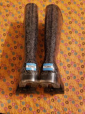 Tom's Rain Boots for Sale in Arlington, TX