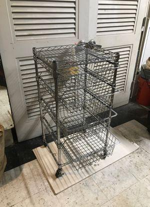 Baker rack 16x 18x 36 chrome for Sale in Westminster, CA