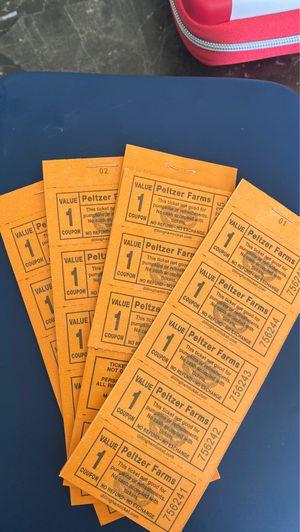 Peltzer farm tickets for Sale in Lake Elsinore, CA