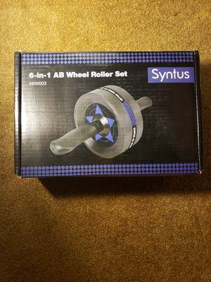6-IN-1 Ab Wheel Roller Set for Sale in Joliet, IL