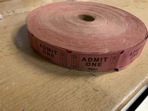 Ticket roll for Sale in Naples, FL