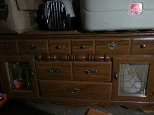 Wooden dresser for Sale in Jacksonville, FL