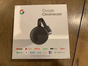 SEALED NEW IN BOX GOOGLE CHROME CAST CHROMECAST HDMi SMART TV for Sale in Fresno, CA
