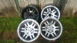 """Set of 17"""" jeep or full size dodge rims for Sale in NORTH DINWIDDIE, VA"""