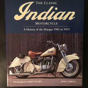 The Classic Indian Motorcycle Book for Sale in West Haven, CT
