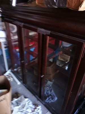 China cabinet good condition asking $1,250.00 for Sale in OLD RVR-WNFRE, TX