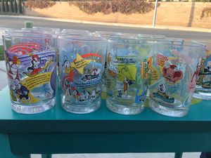 100 Years of Disney collectible glasses for Sale in Fresno, CA