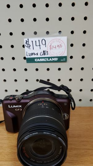 Panasonic lumix dmc-gf3 for Sale in Valley View, OH