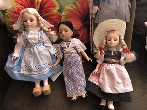 Porcelain baby dolls and cabbage patch doll for Sale in Westminster, MD
