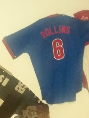 Rolling baseball jersey Phila for Sale in Stone Mountain, GA