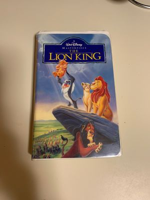 Disney Lion King Original VHS for Sale in Washington, DC