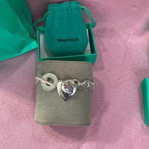 New Tiffany &Co Heart Bracelet for Sale in Renton, WA