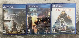 PS4 games for Sale in Nocatee, FL