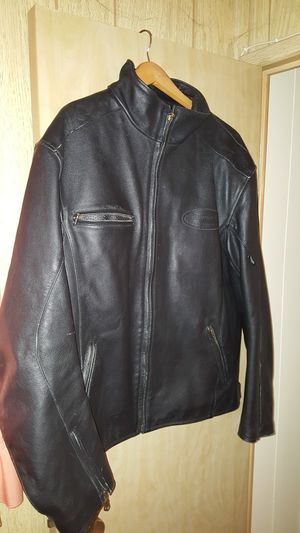 Triumph leather motorcycle jacket for Sale in Mesa, AZ