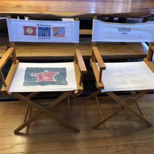 1997 and 1999 US open Original Folding Chairs for Sale in Marietta, GA