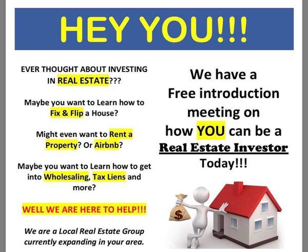 🔥🔥💰💰Wanna learn real estate? Earn 💰while you learn 🔥🔥💰💰