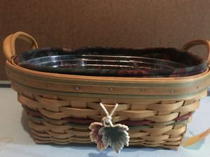 Longaberger Autumn Reflections Basket for Sale in Canton, MI