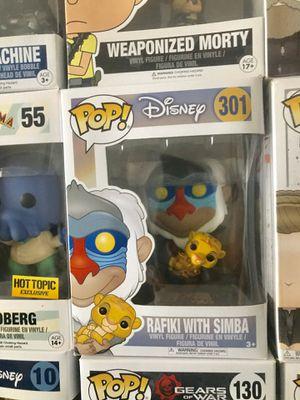 Funko Pop Disney The Lion King Rafiki with Simba 301 for Sale in Palmdale, CA