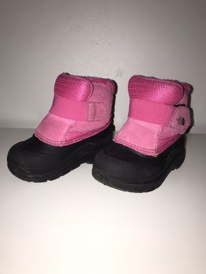 Snow set (snowsuit and boots) for Toddler Girl for Sale in Miami, FL