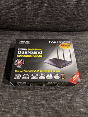 ASUS RT-N66U Dual-Band Wireless-N900 Gigabit Router for Sale in Portland, OR