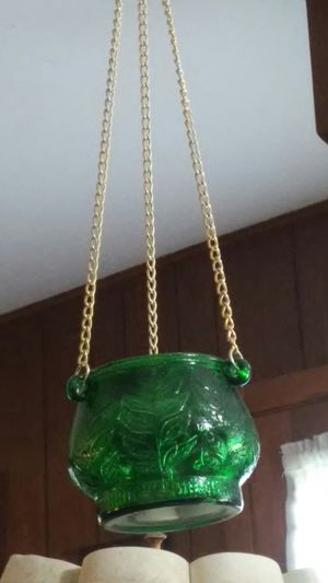 Hanging glass planter/incense burner for Sale in Columbus, OH