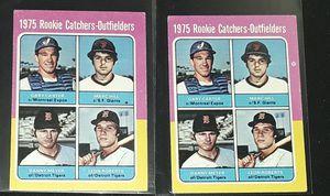1975 GARY CARTER ROOKIE MINI LOT OF 2 for Sale in Turlock, CA