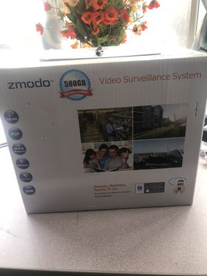 Zmodo video surveillance system for Sale in Fremont, CA
