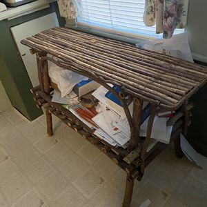 Vintage Pottery Barn Twig Table for Sale in Meriden, CT