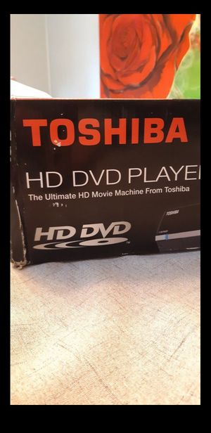 Toshiba HD/DVD Player w/2 Movies for Sale in Fresno, CA