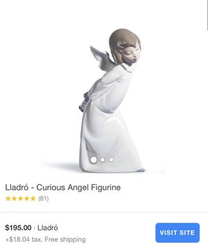 Curious Angel Figurine -Lladro for Sale in Santa Ana, CA