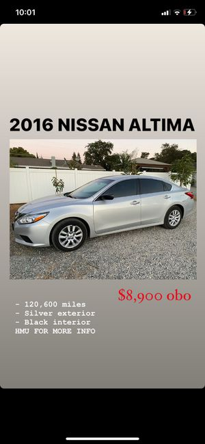 2016 Nissan Altima for Sale in Stockton, CA