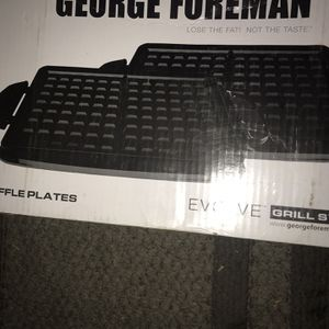 New George Foreman Waffle Plates for Sale in Dallas, TX