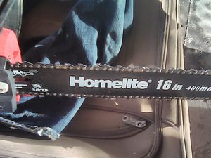 """Homelite Electric Chainsaw 16"""" for Sale in Washington, DC"""