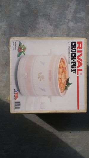 Rival crock pot for Sale in Hawthorne, CA