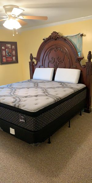 BRAND NEW IN PLASTIC- ( picture is for attention ) BRAND NEW MATTRESS SETS KING AND QUEEN for Sale in Jonesboro, AR