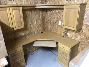 Custom Desk with cabinets for Sale in Leavenworth, WA