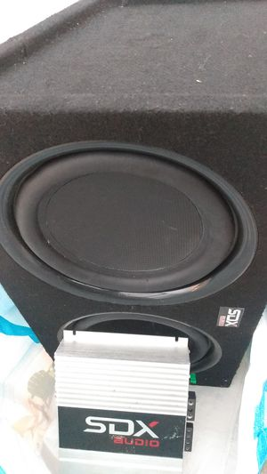 Brand new box 10's speakers for Sale in Washington, DC