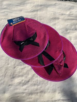 Three Pink Witch Hats for Sale in Richmond, CA