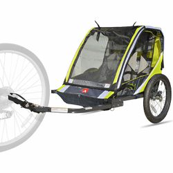 Allen Sports Deluxe 2-Child Bike Trailer - Green for Sale in San Lorenzo,  CA