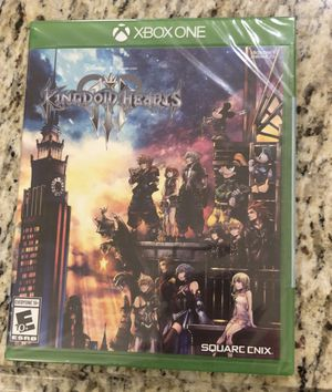 Kingdom hearts 3 Xbox one sealed for Sale in Henderson, NV
