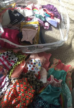 18in Doll Clothing Lot for Sale in El Cajon, CA